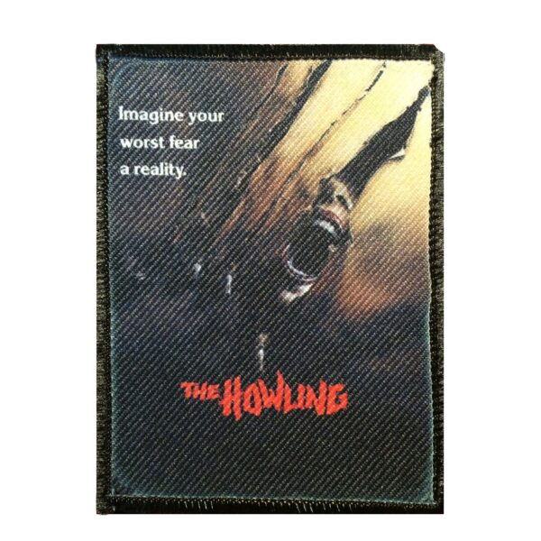 The Howling Embroidered Patch