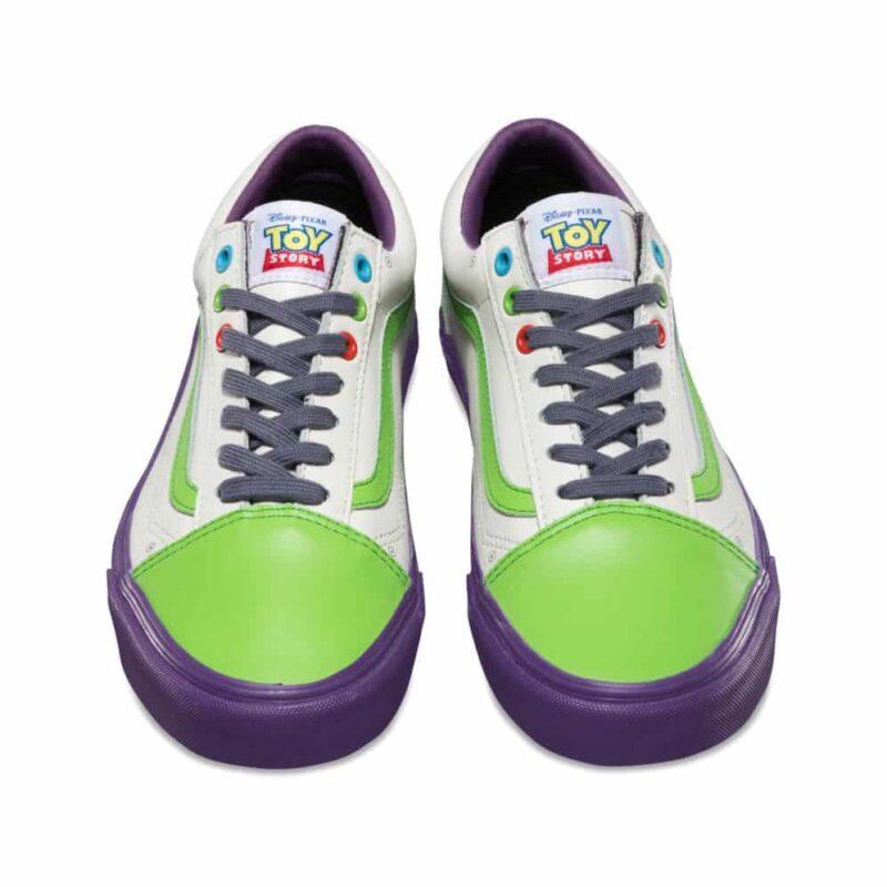 Vans Toy Story Old Skool Buzz Lightyear Shoe 4