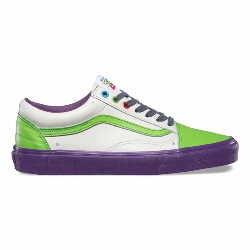 Vans Toy Story Old Skool Buzz Lightyear Shoe 1