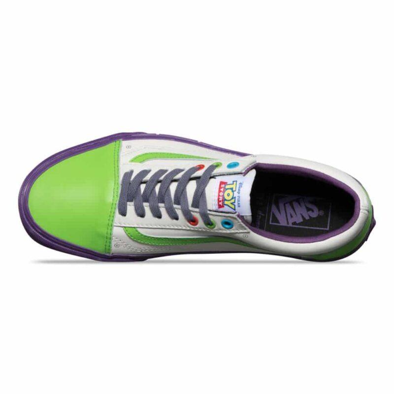 Vans Toy Story Old Skool Buzz Lightyear Shoe 2