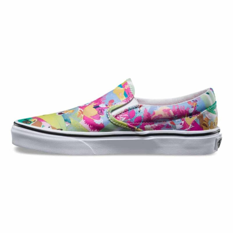 Vans Disney Classic Slip-On Alice in Wonderland Shoe Pink 3