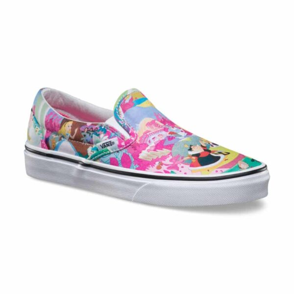 Vans Disney Classic Slip-On Alice in Wonderland Shoe