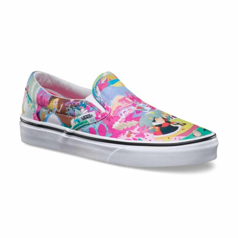 Vans Disney Classic Slip-On Alice in Wonderland Shoe