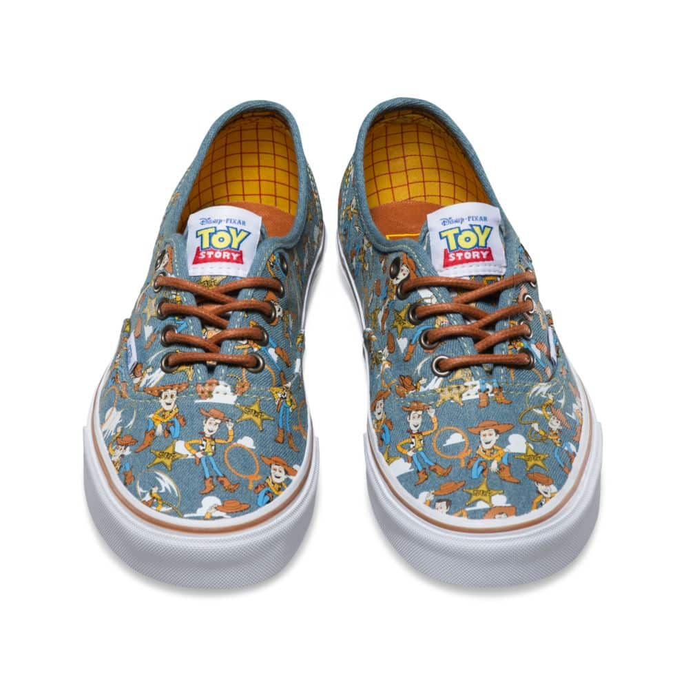 Alarmante Leve egipcio  Vans Toy Story Authentic Woody Shoe - Red Zone Shop