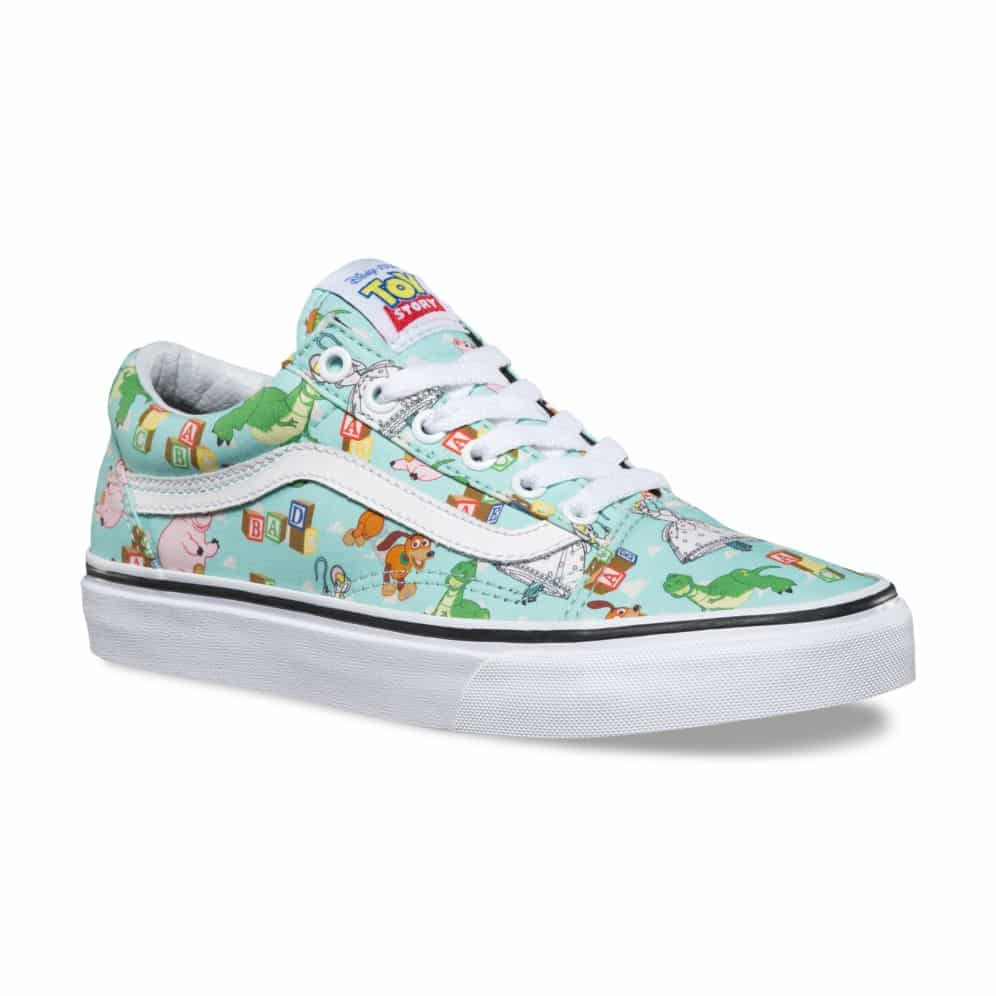 imitar Gallina Marketing de motores de búsqueda  Vans Toy Story Old Skool Andys Toys Shoe - Red Zone Shop