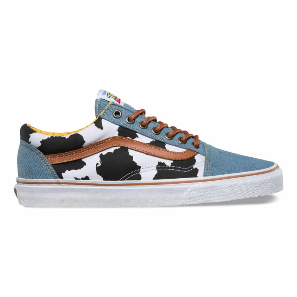Degenerar Matemático Incidente, evento  Vans Toy Story Old Skool Woody Shoe - Red Zone Shop