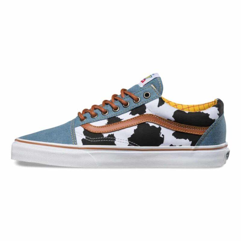 Vans Toy Story Old Skool Woody Shoe 3