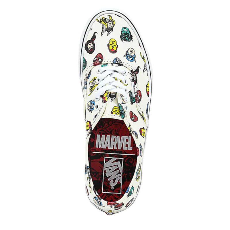 Vans Authentic Marvel Heads Shoe 1