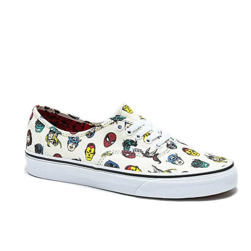 Vans Authentic Marvel Heads Shoe