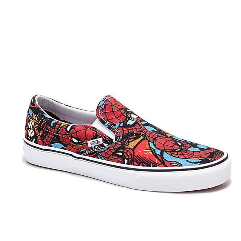 Vans Classic Slip On Spider-Man Shoe