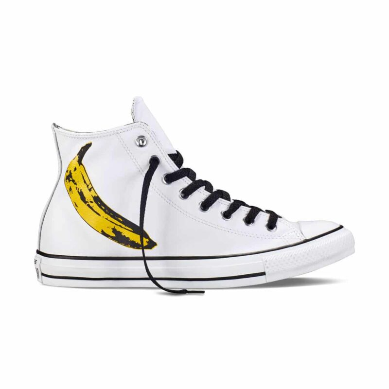 Converse Chuck Taylor Andy Warhol Banana High Top 1