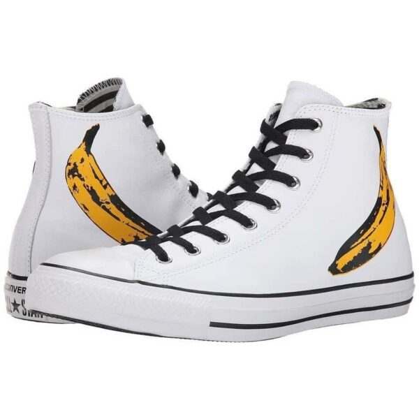 Converse Chuck Taylor Andy Warhol Banana High Top