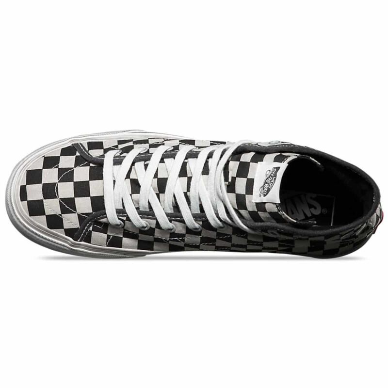 Vans Sk8-Hi Overwashed Checkered Shoe 3