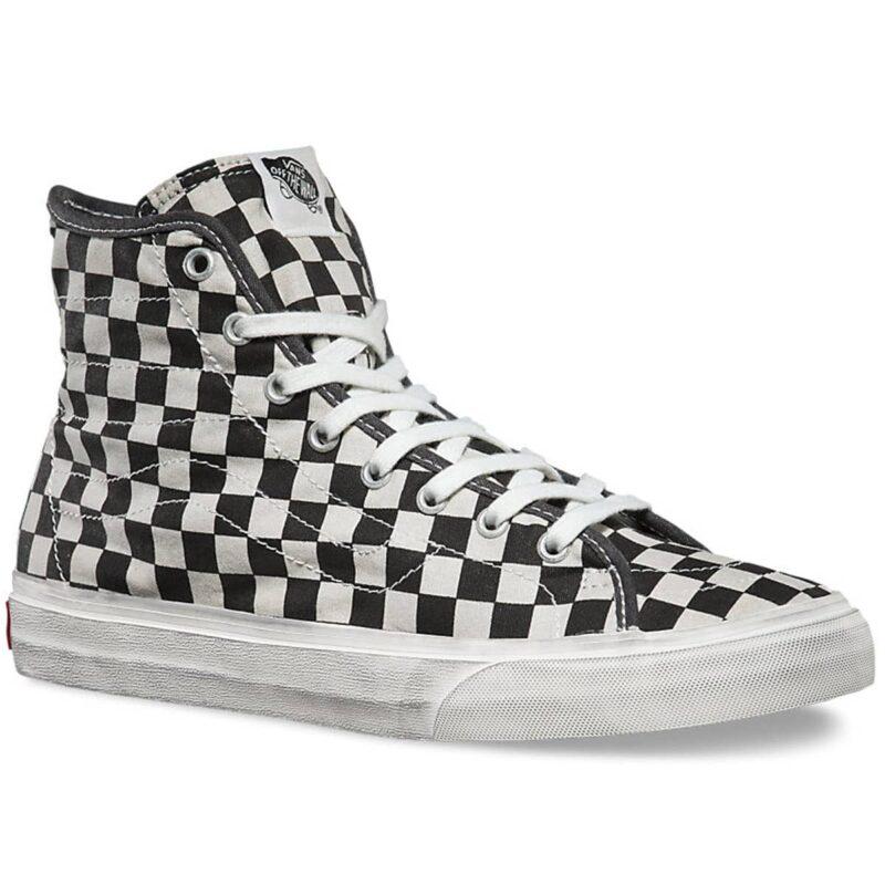 Vans Sk8-Hi Overwashed Checkered Shoe