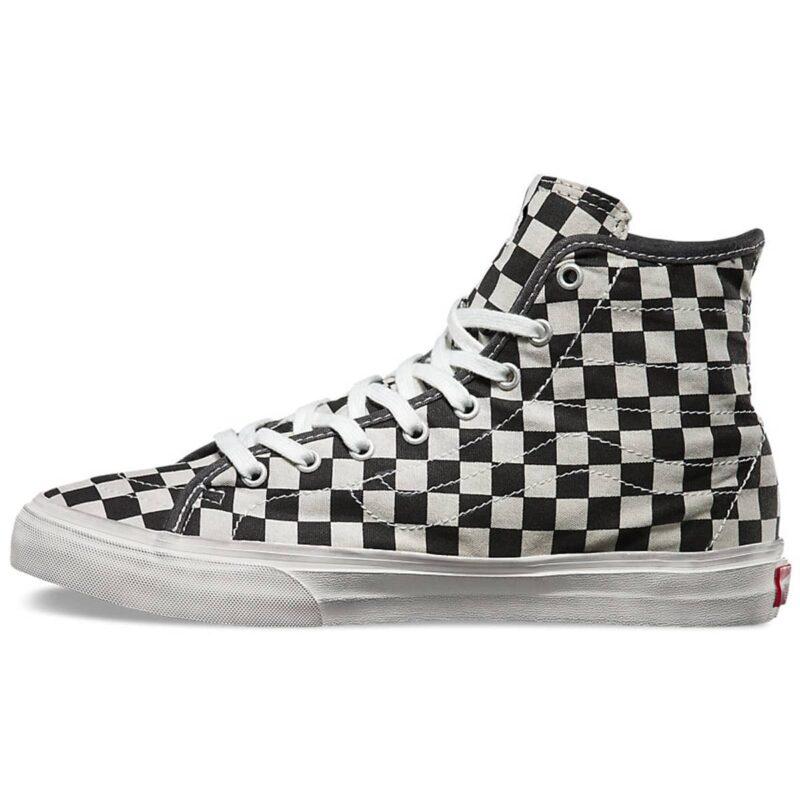 Vans Sk8-Hi Overwashed Checkered Shoe 2