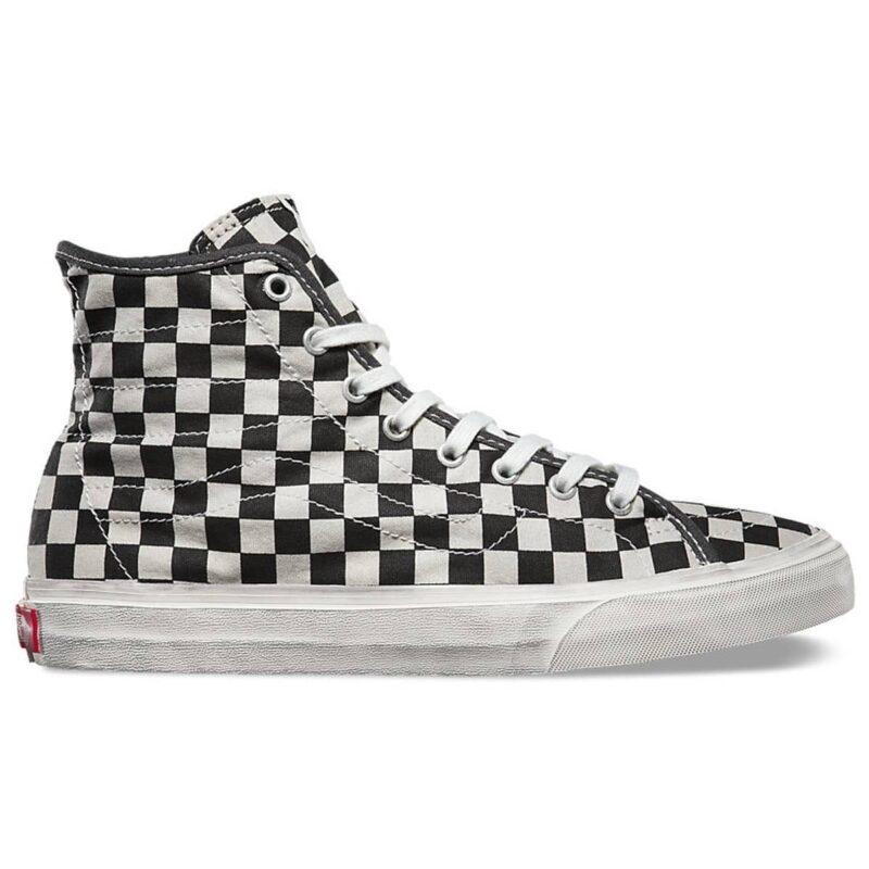 Vans Sk8-Hi Overwashed Checkered Shoe 1