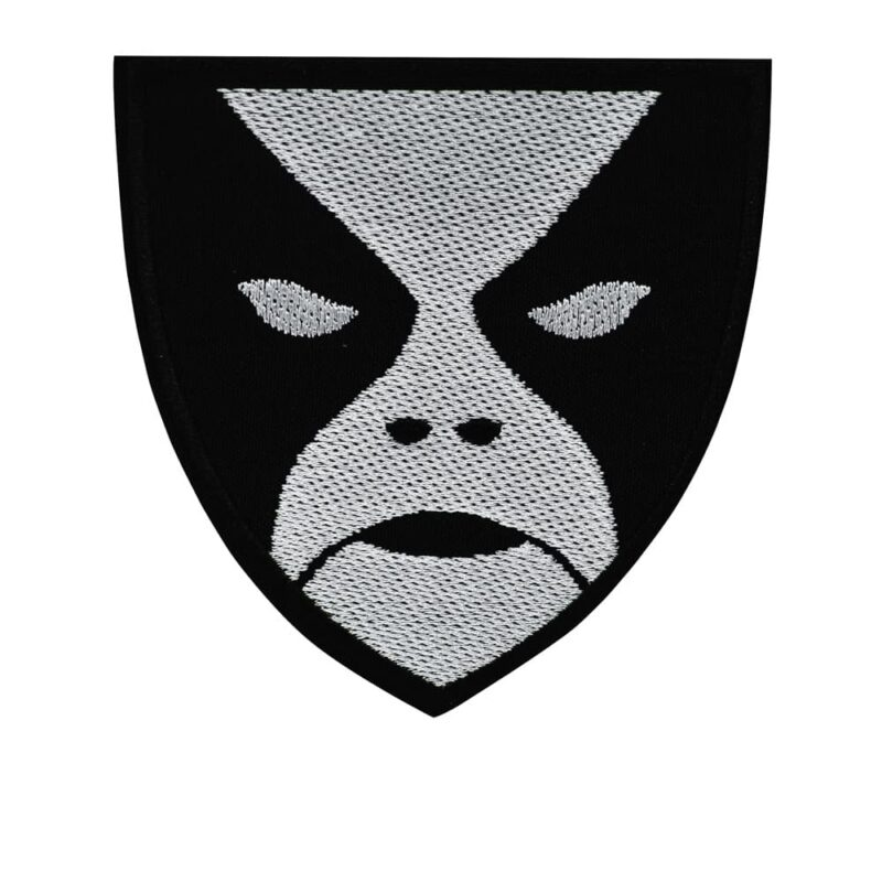 Abbath Face Embroidered Patch