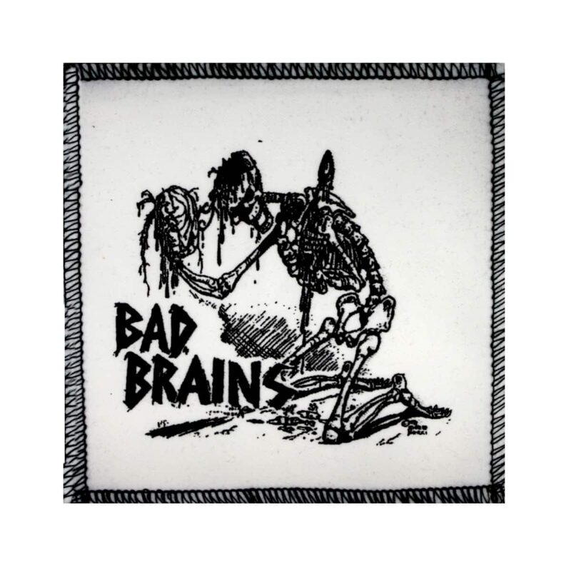 Bad Brains Skeleton Cloth Patch