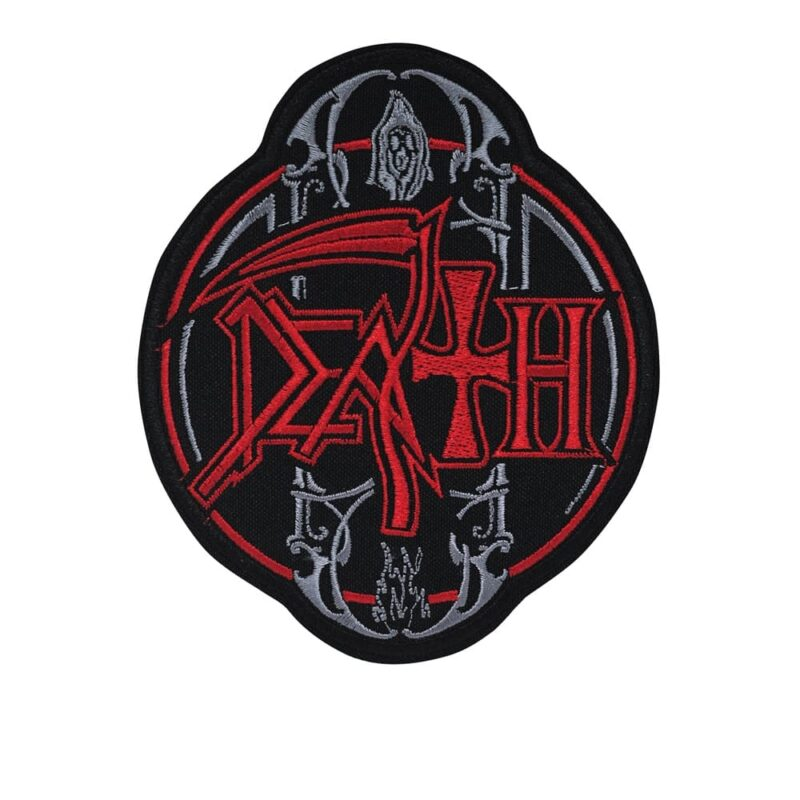 Death Circle Logo Embroidered Patch