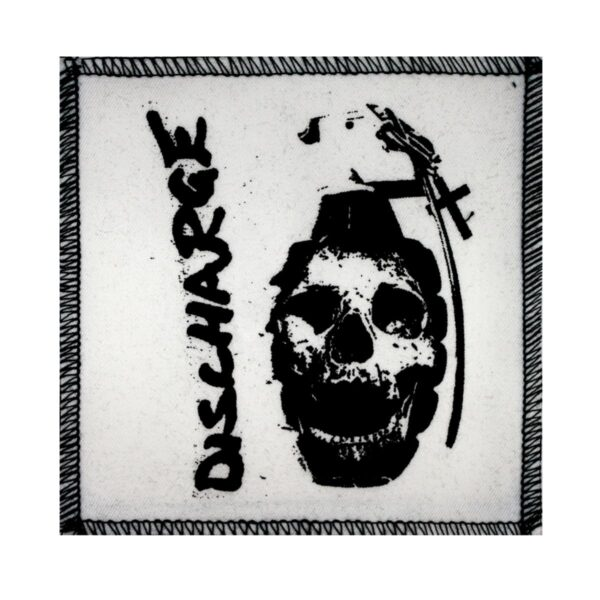 Discharge Grenade Cloth Patch