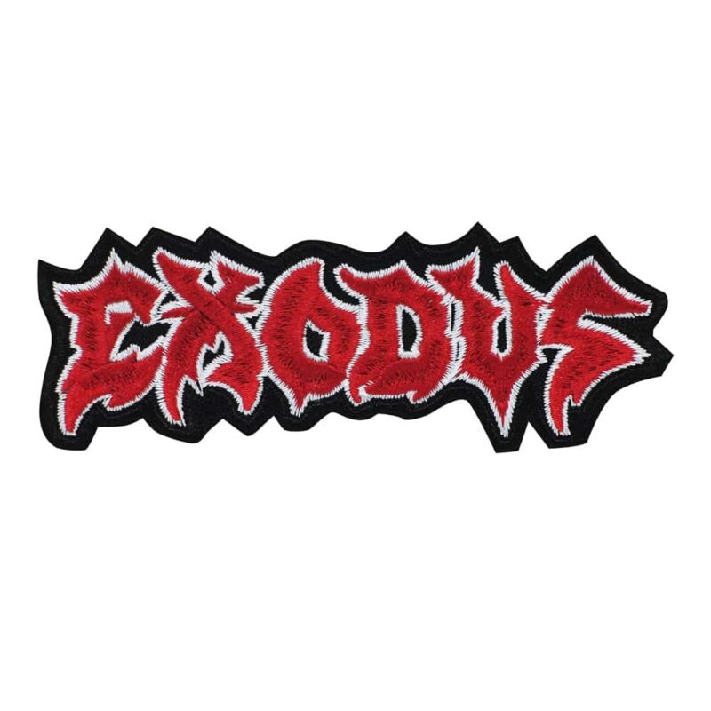 Exodus Logo Embroidered Patch-2