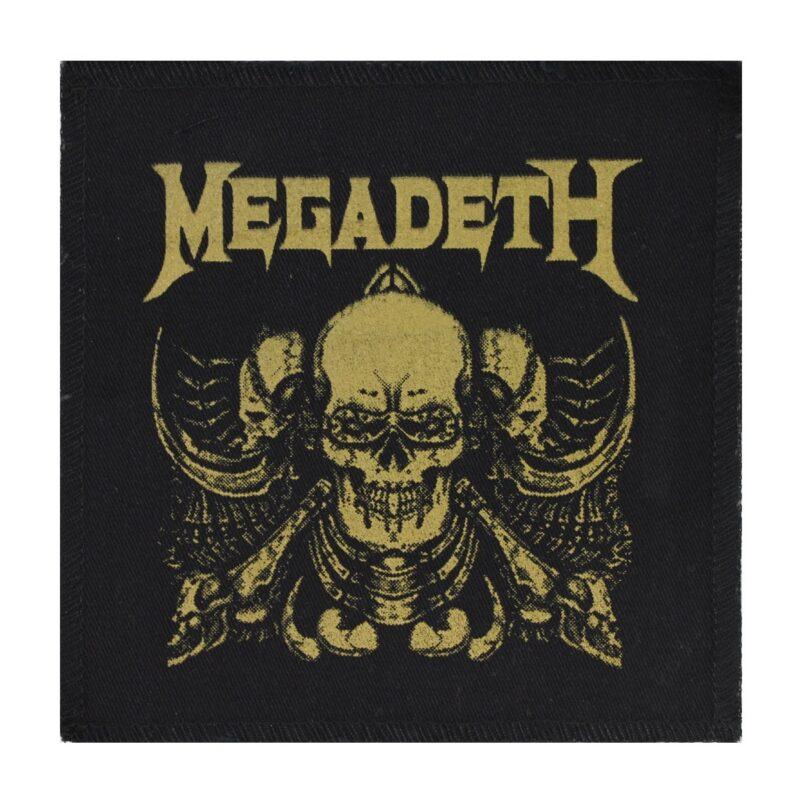 Megadeth Skulls Cloth Patch