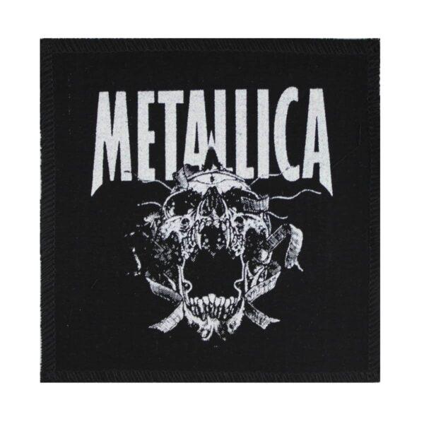 Metallica Pushead Skull Cloth Patch