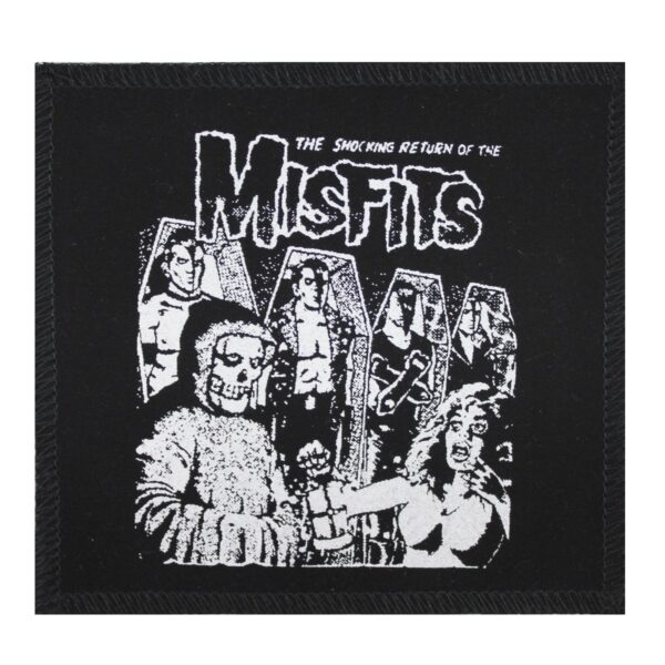 Misfits Shocking Return Cloth Patch
