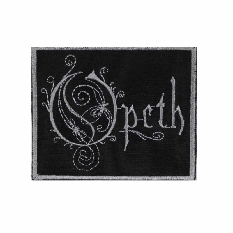 Opeth Logo Embroidered Patch