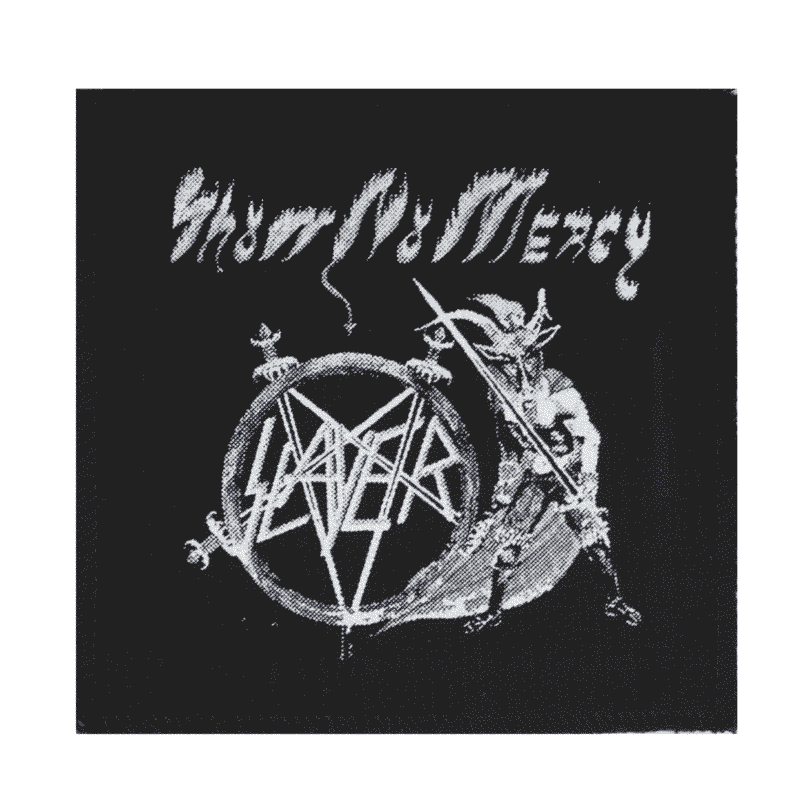Slayer Show No Mercy Cloth Patch