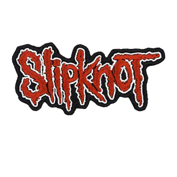 Slipknot Logo Embroidered Patch