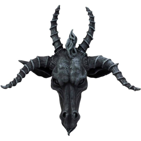 Baphomet Head Wall Plaque