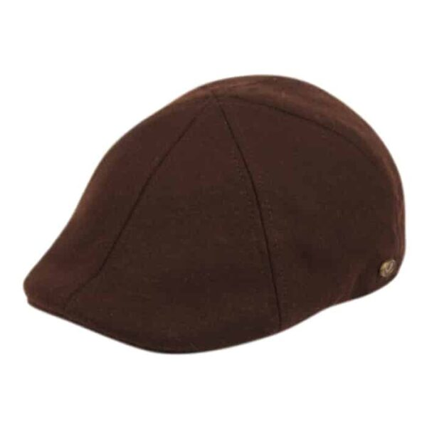 Brown Wool Ivy Hat
