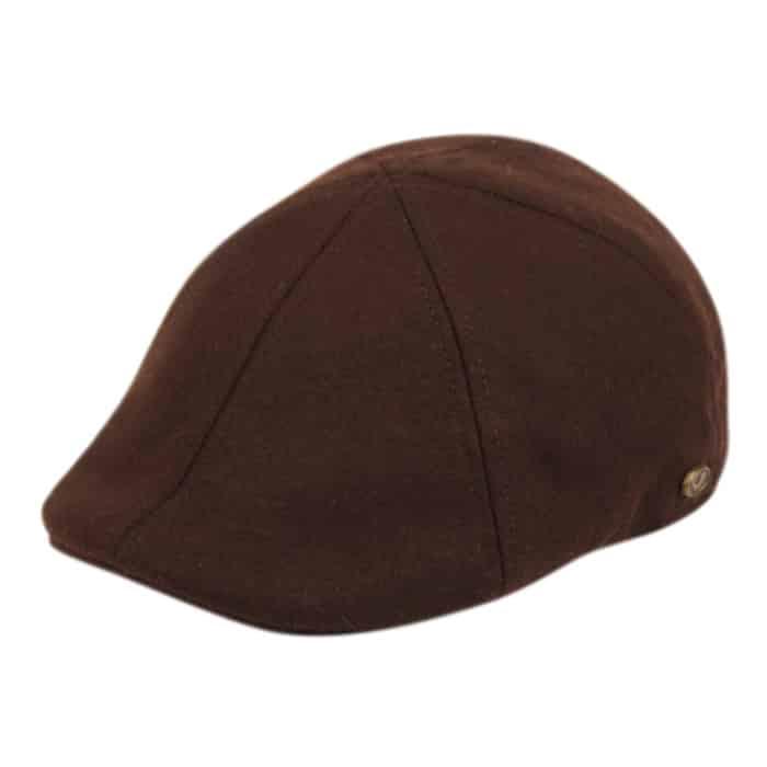 Brown Wool Ivy Hat