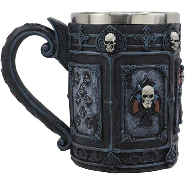 Dead Mans Hand Poker Mug