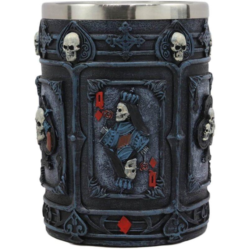 Dead Mans Hand Poker Mug queen