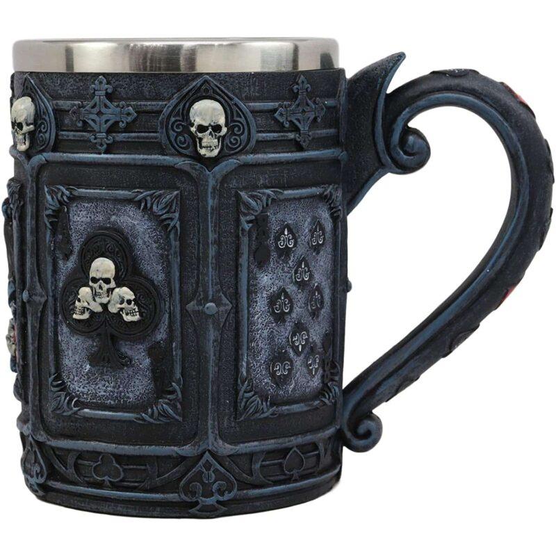 Dead Mans Hand Poker Mug side