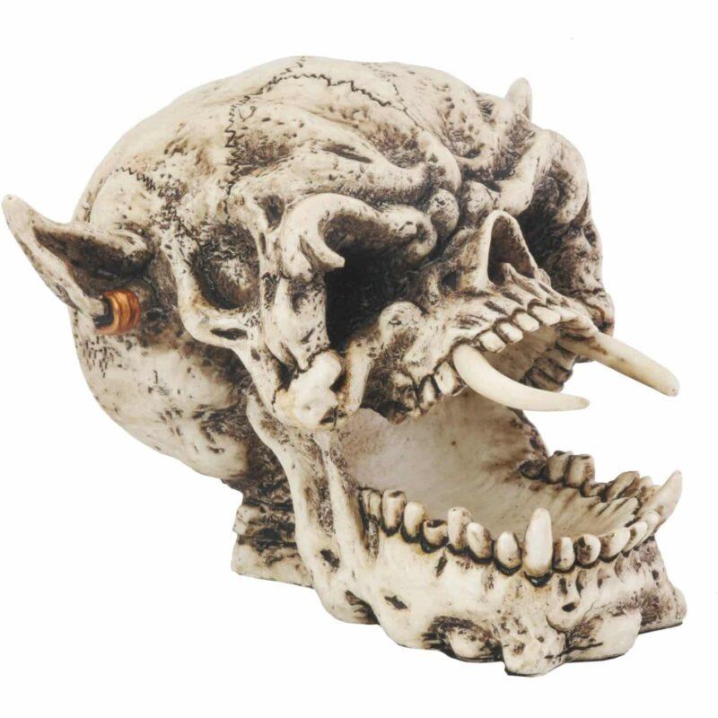 Demon Skull Figurine