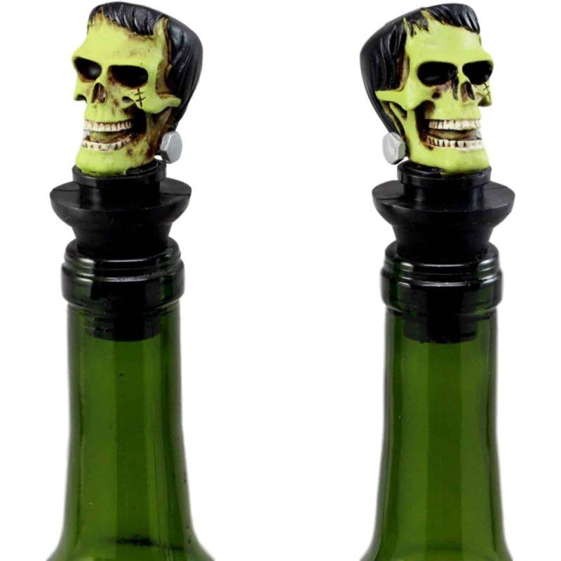 Frankenstein Skull Wine Stopper 2