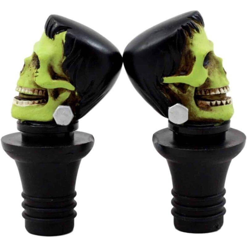 Frankenstein Skull Wine Stopper 1
