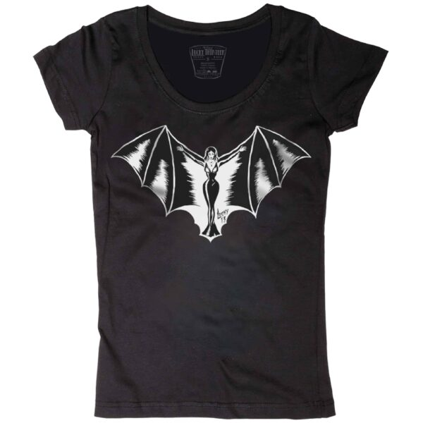 Lucky 13 Womens Vampy Tee