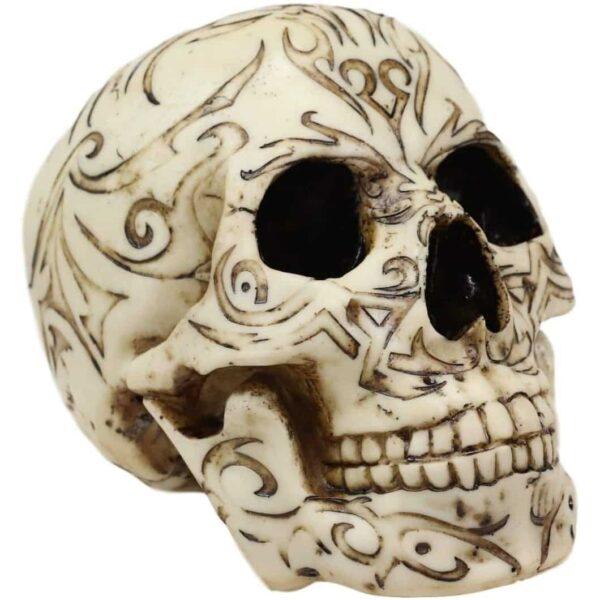 Tribal Pattern Skull Head