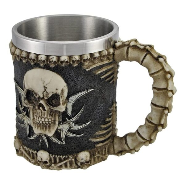 Tribal Skull Mug