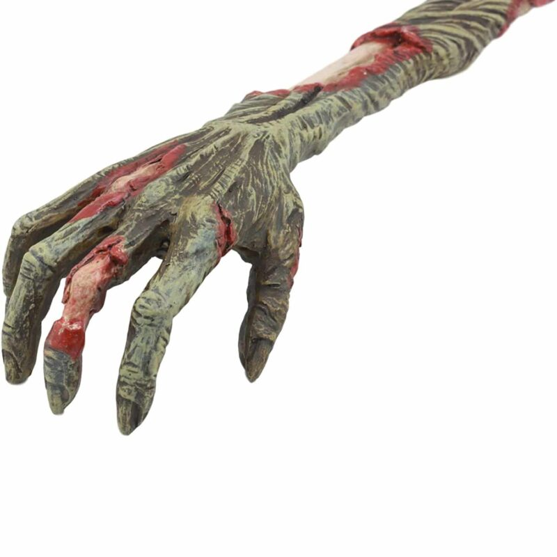 Zombie Hand Back Scratcher closeup
