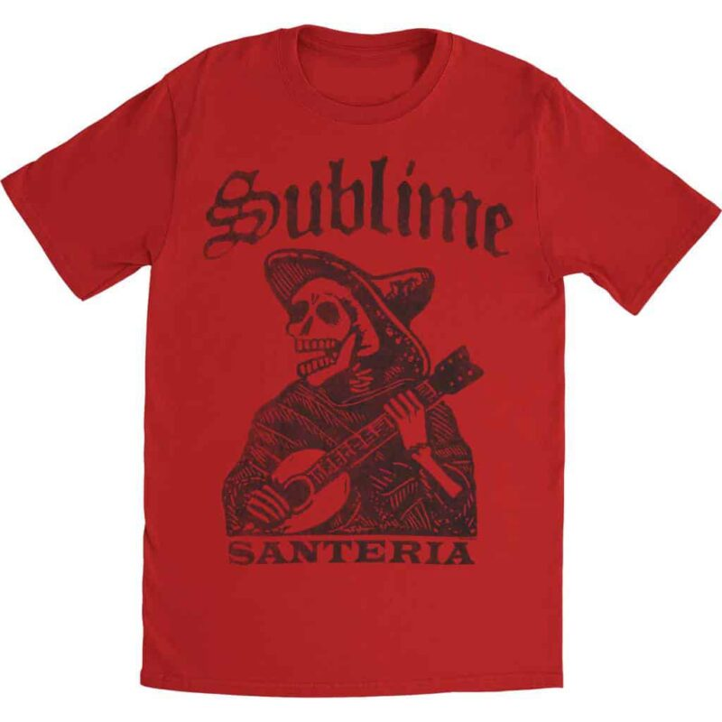 Sublime Santeria Skeleton T-Shirt