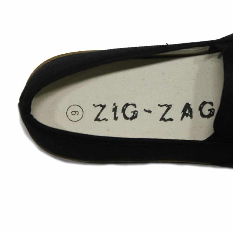 Zig Zag Wino Shoes Black Sole 7204 4