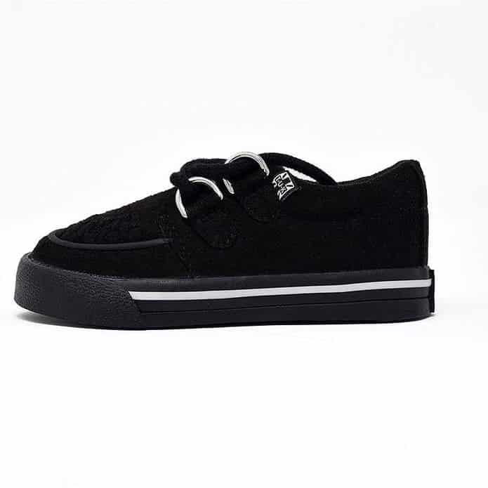 TUK Black Toddler Sneaker Creeper A9723 1
