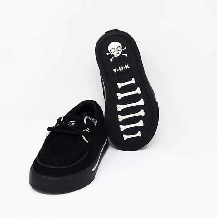 TUK Black Toddler Sneaker Creeper A9723 3