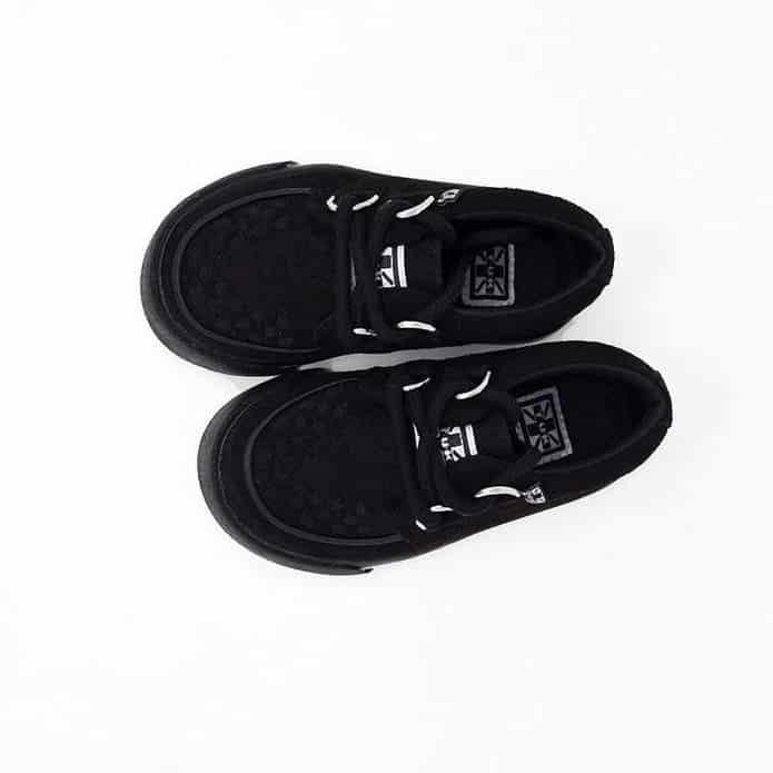 TUK Black Toddler Sneaker Creeper A9723 2
