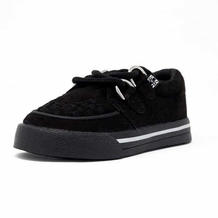 TUK Black Toddler Sneaker Creeper A9723